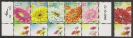 ISRAEL 2013-2014 - Flowers - Set MNH - Neufs (avec Tabs)