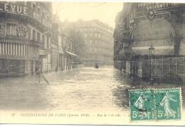 CPA PARIS - INONDATIONS DE PARIS JANVIER 1910 - RUE DE L'ARCADE - Paris Flood, 1910