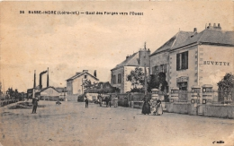 """¤¤  -  26  -  BASSE-INDRE  -  Quai Des Forges Vers L'ouest   -  Café """" Guitton """"    -  ¤¤ - Basse-Indre"""