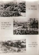 PHOTO ROUEN GUERRE 1944 LIBERATION BOMBARDEMENT DESTRUCTION RUINE ARMEE VON KLUGE WEHRMACHT SEINE - 1939-45