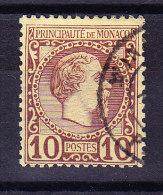 Monaco - 1885 - Mi# 4 Gestempelt - Monaco