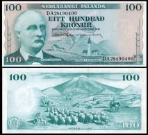 Iceland 100 Kronur 1961 Pick 44 UNC Sign1 - Islandia