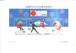 75811) Foglietto Olimpiade  Invernali1972 - Blocks & Sheetlets