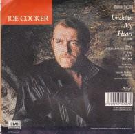 JOE COCKER - UNCHAIN MY HEART- 45T  TBE- - Blues