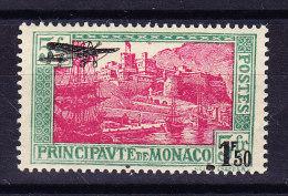 Monaco - 1933 - Mi# 137 ** Flugpost Abart - - Monaco