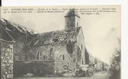 Reuves Eglise     Guerre 1914-18 - Postcards
