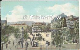 CLERMONT-FERRAND - Place De Jaude (animée) (Collection Du Journal) - Clermont Ferrand