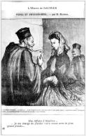 Honoré Daumier Avocat  Procès Adultère 1930 état Superbe - Illustrateurs & Photographes