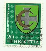 1980 - Svizzera 1117 Stemma C3311, - Francobolli