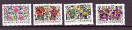CHINE 1988 REGIONS RURALES Yvert N°2869/72  NEUF MNH** - 1949 - ... People's Republic