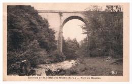 87 ST-DENIS-DES MURS PONT DE MASLEON - Otros Municipios