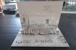 La Rochelle Carte Pliante Relief - La Rochelle