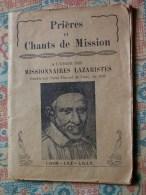 """""""""""  PETIT  LIVRE  PRIERES  ET  CHANTS  DE  MISSION  //  1945  --  50  PAGES  """""""" - Religion & Esotérisme"""