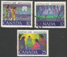 Canada. 1977 Christmas. Used Complete Set. - Used Stamps