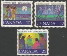 Canada. 1977 Christmas. Used Complete Set. - 1952-.... Reign Of Elizabeth II