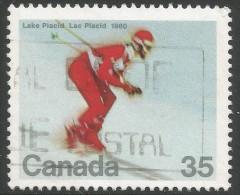 Canada. 1980 Winter Olympic Games, Lake Placid. 35c Used. SG 971 - 1952-.... Reign Of Elizabeth II