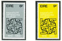 1969 - IRLANDA - EIRE - IRELAND - Mi. 232/233 -  MNH - (PG10062014...) - 1949-... Repubblica D'Irlanda