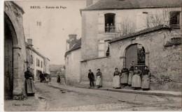 Reuil  Entrée Du Pays - France