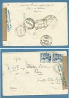 1940 - CENSURA MILITARE PALMA DE MALLORCA - BUSTA PER TRIESTE - Marcas De Censura Nacional