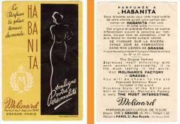 Carte Parfumée Habanita, Molinard - Cartes Parfumées