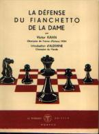 (échecs) « La Défense Du Fianchetto De La Dame », KHAN, V. « Le Triboulet » Monaco (1949) - Jeux De Société