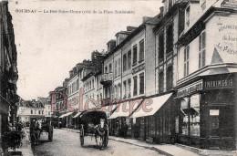 76 - GOURNAY  - La Rue Notre Dame - Ecrite   1923 -  2 Scans - Gournay-en-Bray