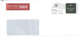 BRD Hamburg Infopost FRW Dolzer Lady Schneiderschere Gutscheine - Textil