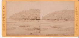BONFILS FELIX ALAIS PALESTINE ET SYRIE 145 JAFFA PRIS DE LA MER PHOTO STEREO ANCIENNE - Photos Stéréoscopiques
