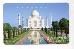 INDE TAJ MAHAL CARTE DU JAPON - India