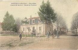MONTREUX CHATEAU .AV DE LA GARE - Otros Municipios