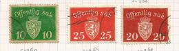 Norvège Service N°24, 26, 27, 45, 59, 61, 63, 65,98  Côte 4.50 Euros - Service