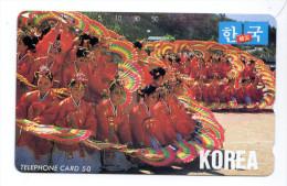 COREE  Télécarte Japonaise - Corée Du Sud