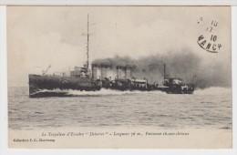 BATEAUX - TORPILLEUR  D´ ESCADRE -  DEBORTER - Marine  Française - Krieg