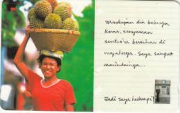 SINGAPORE(GPT) - Woman Going To Market, CN : 187SIGF99(normal 0), Used - Singapur
