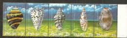 Palau1988:Yvert230-4 Seasnails Mnh** - Coneshells