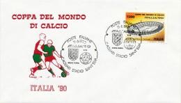COPPA DEL MONDO - CAGLIARI STADIO SANT'ELIA - INGHILTERRA EIRE  11-6-1990 - Copa Mundial