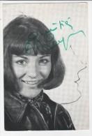 Carte Discographique Anne Marie Peysson  Autographe - Chanteurs & Musiciens