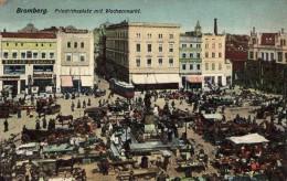 BROMBERG - Friedrichsplatz Mit Wochenmarkt - Germany