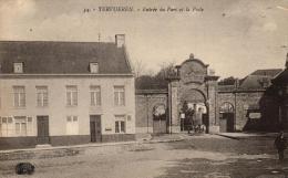 BELGIQUE - BRABANT FLAMAND - TERVUEREN - TERVUREN - Entrée Du Parc Et La Poste. - Tervuren