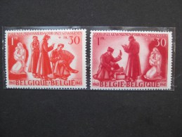 Timbres Belgique : Au Profit Des Prisonniers De Guerre 1943 COB N° 623 à 624 ** & - Unclassified