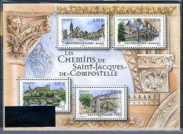 France 2012 - Les Chemins De Saint Jacques De Compostelle -  MNH - Nuevos