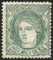 España 110 * - 1868-70 Gobierno Provisional