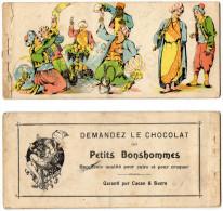 Chocolaterie Et Cacao Antoine. Chocolat Des Petits Bonshommes. - Sammlungen