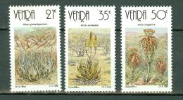 Venda  1990 ** MNH  Aloes - Venda