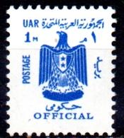 EGYPT 1967  Official - 1m. - Blue  MNH - Servizio