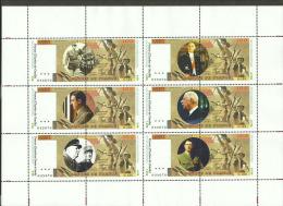 Fantasy Label  General De Gaulle On Banknotes Notes Big Sheet - Vignettes De Fantaisie