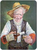 Small Pocket Calendar Drink Paul Jones & Co - Year 2014 - Calendarios