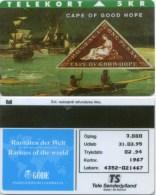 "Telefonkarte Dänemark -  Rare Stamps  "" Cape Of Good Hope "" - TP37 - 02/94 - SN 4352 - Aufl. 3000 - Timbres & Monnaies"