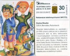 Telefonkarte Slowakei - Zeichnung - Telefonieren - Phone - Aufl. 200000 - 20/99 - Slowakei