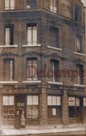 76 - Carte Photo -  Café Hebert Rue Bonne Nouvelle Prés De La Prison -  Rouen St Lever - - Rouen
